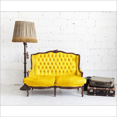 Yellow Sofa Fabric
