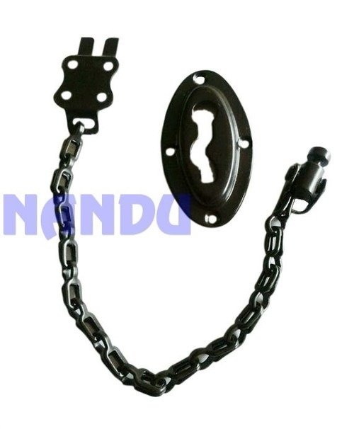 M.S. OVAL DOOR CHAIN BROWN