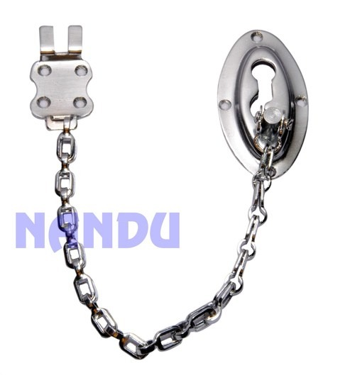 M.S. OVAL DOOR CHAIN CHROME