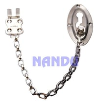 S.S. Oval Door Chain