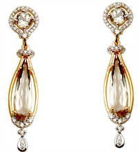 Graceful Diamond Earrings Jewelry Set
