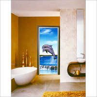 Pvc Decorative Bathroom Doors