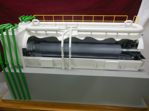 Cutway Engine Model