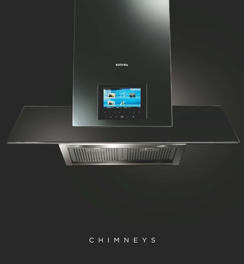 Kitchen Chimney with Lcd TV