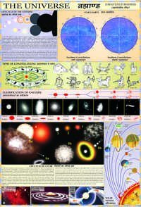 Our Universe (Heavenly Bodies) Chart