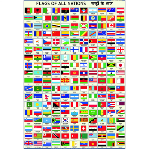 Flags of all Nations Chart