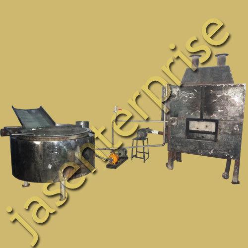 Circular Fryer with with Inbuilt Heat Exchanger