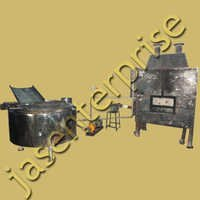 Circular Fryer with with Inbuilt Heat Exchanger