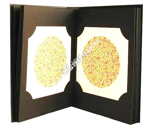 Ishihara Colour Text Book 14 Plate