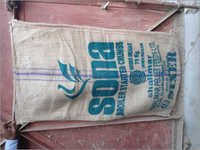 Rice Packing  Old Used Jute Bags