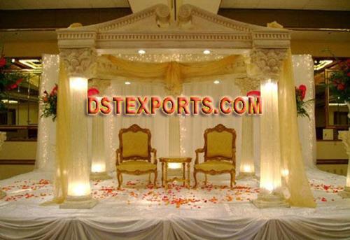 LIGHTED WEDDING STAGE