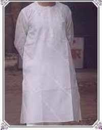 Mens Embroidered Cotton Kurta