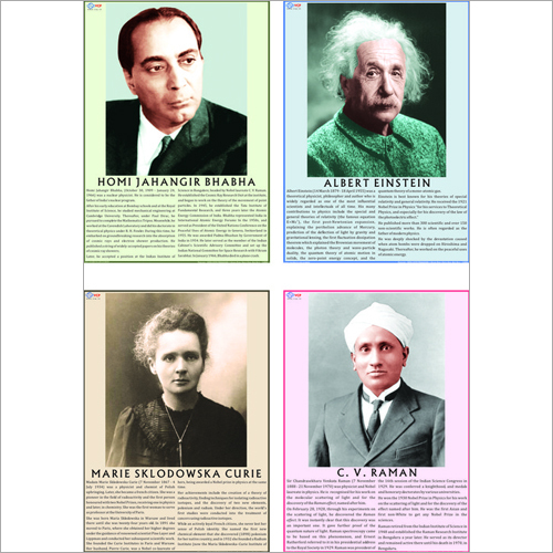 Madam M.S Curie Biography Chart
