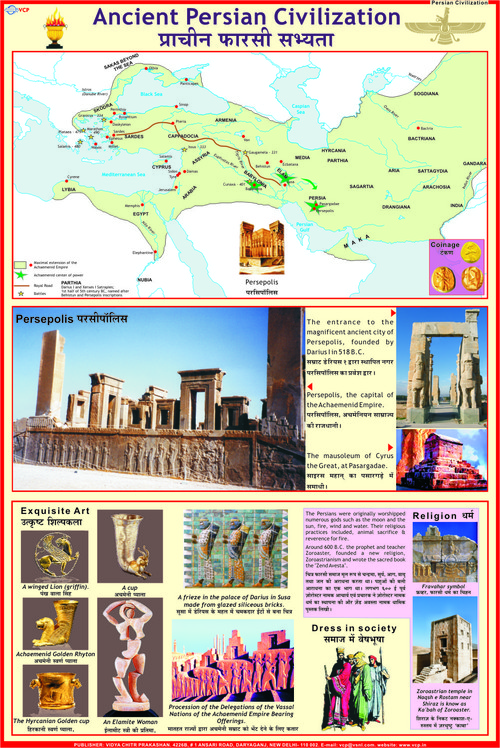 Ancient World Civilizations Charts