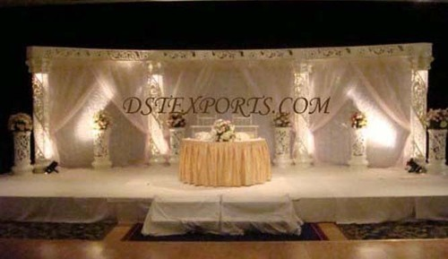 SILVER WEDDING STAGE