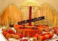 ROYAL WEDDING MEHANDI STAGE