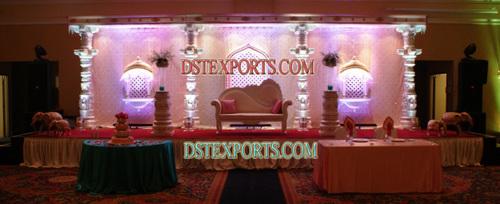 INDIAN WEDDING ROYAL STAGE SET