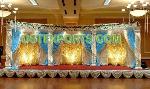 WEDDING DESIGNER FIBER CRYSTAL STAGES