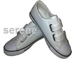 White design shoes