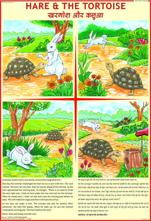 Hare And The Tortoise Story Chart