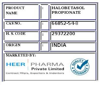 Halobetasol Propionate
