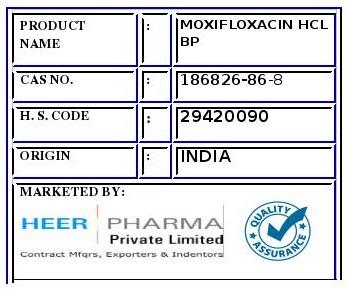 Moxifloxacin Hcl