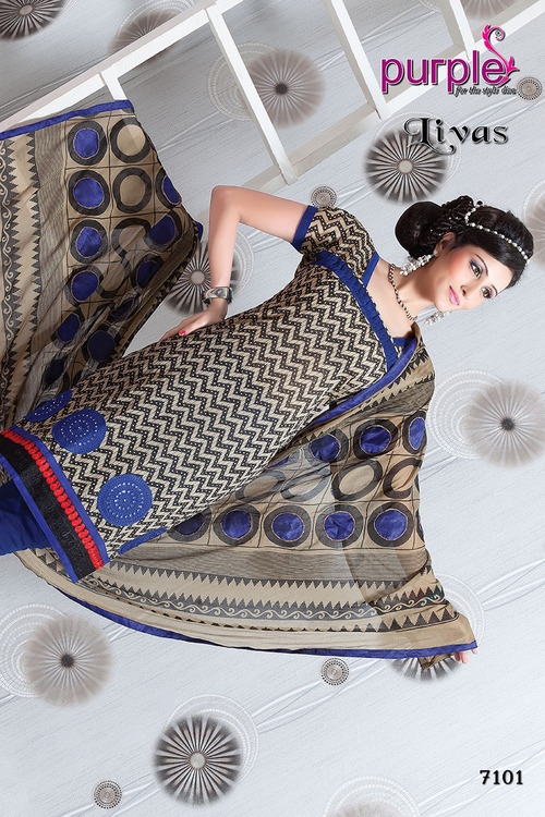 Traditional Design On Cotton Dress Material