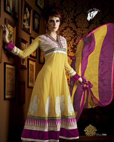 Amazing Anarkali Suits On Georgette Material