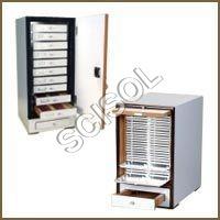 Slide Storage Boxes & Cabinets