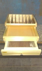 Wooden Ply Rack With Draw