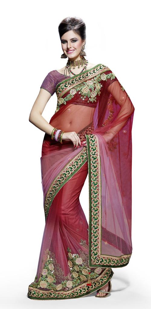 Ethnic Fusion Designer Saree