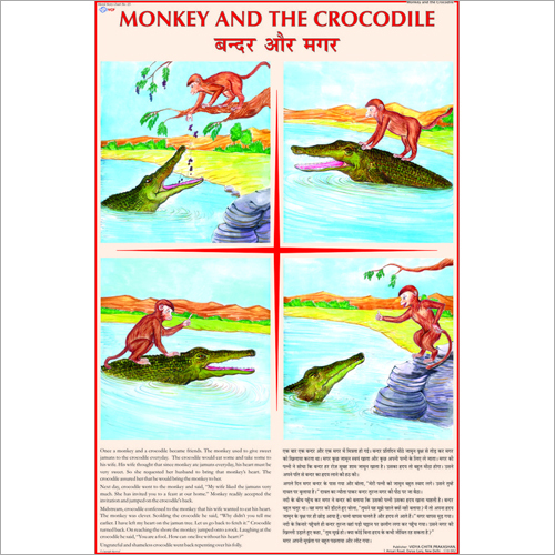Crocodile And The Monkey