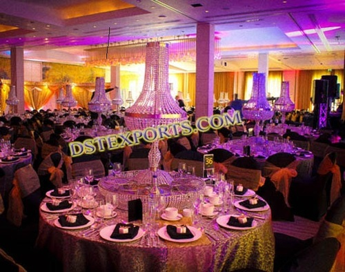 Wedding Crystal Center Pieces