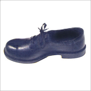 PVC Sole Leather Safety Shoes