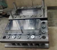 Electronic connector mold base