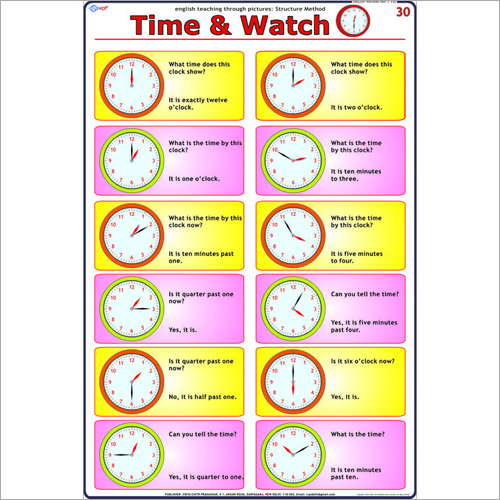 Time - Watch Chart