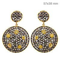 Slice Diamond Earrings Jewelry