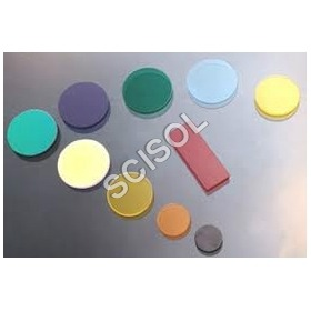Colour Glass Filters- Y, R, G, O, B