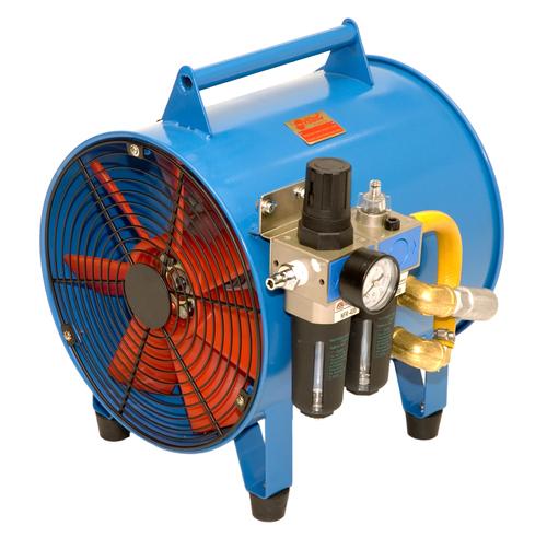 Pneumatic Ventilation Fan