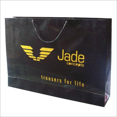 Logo Printed Shopping Bag