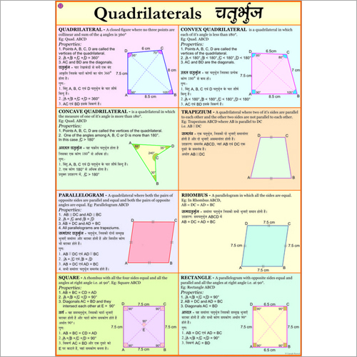 Quadrilaterals Chart