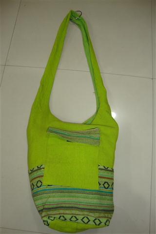 Handmade Fabric Sling Bag