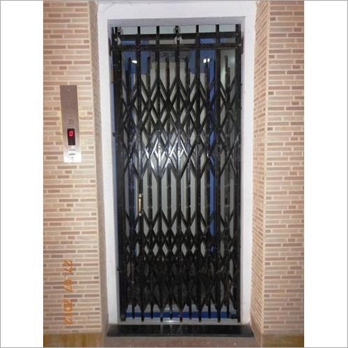 M.S Collapsible Elevator Door