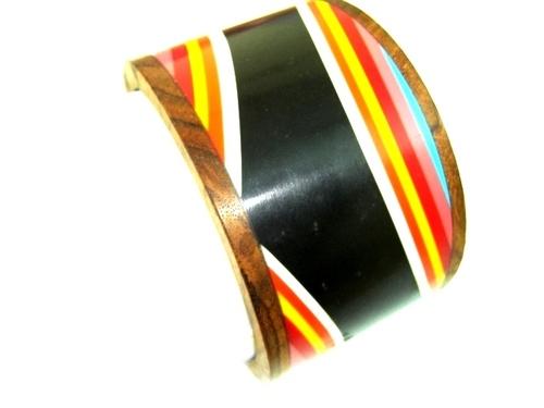 Printed Wooden Bangle