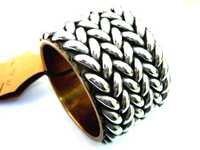Steel Bangle Bracelet