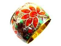 Floral Printed Bangle