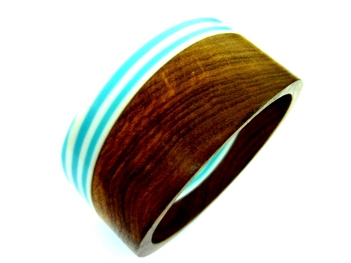 Trendy Wooden Bangle