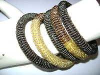 Wire Bangle Set