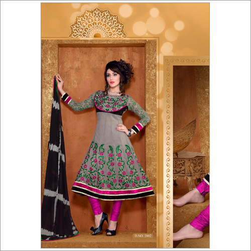 Latest Party Wear Anarkali Suit