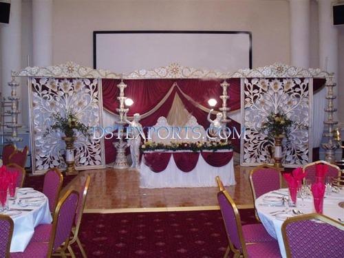New Wedding Fiber Carved Stage